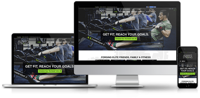 Fitness and Gym Websites